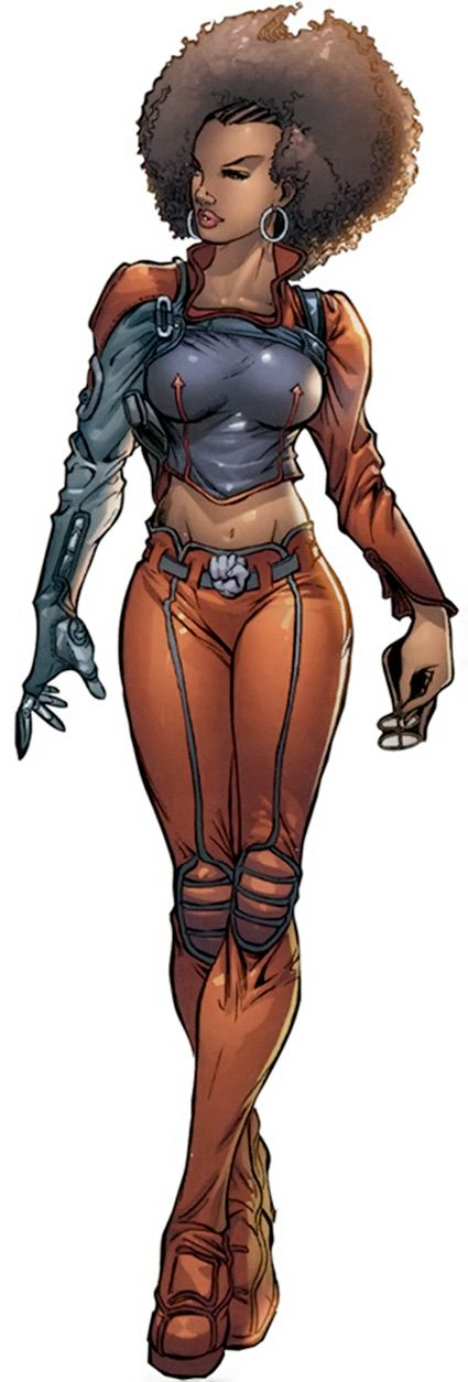 Misty Knight - Heroes for Hire - Nightwing Rest. - Marvel comics