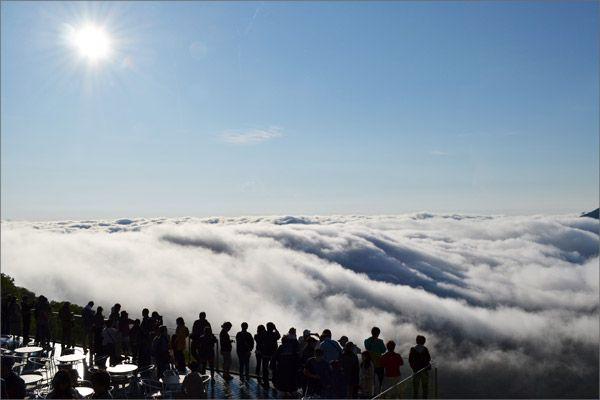 Unkai Terrace in Hokkaido, Japan  雲海テラスイメージ