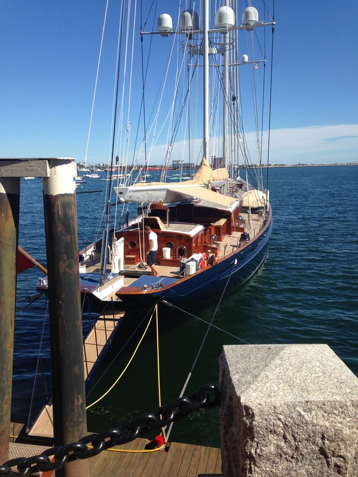 169 foot schooner rigged sailboat Meteor - gorgeous, Greece. - Selected by www.oiamansion in Santorini.