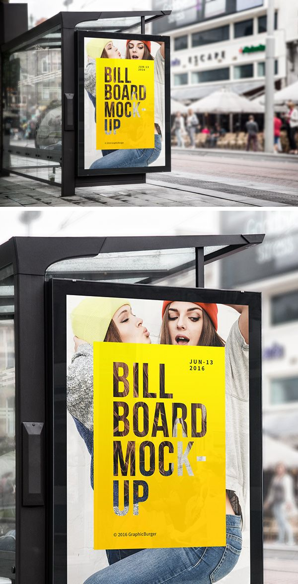 The freebie of the day is a bus stop billboard mock-up you can use to create a realistic presentation for your advertising...