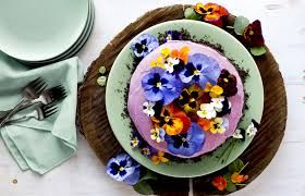 Image result for edible flower punch
