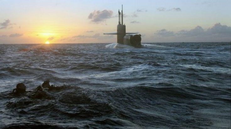 USA Il sottomarino nucleare Michigan si dirige verso la Corea del Sud