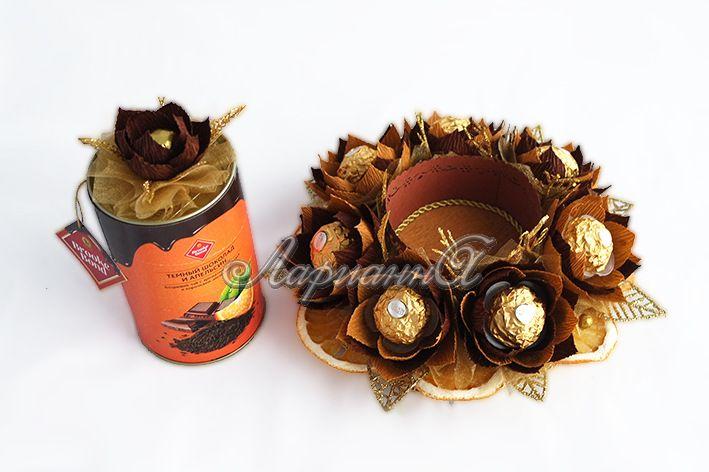 Gallery.ru / Фото #75 - Букеты и композиции из конфет. Часть 4 - Larisolka