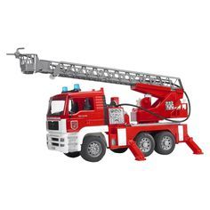 Bruder Toys MAN Fire Engine with Water Pump