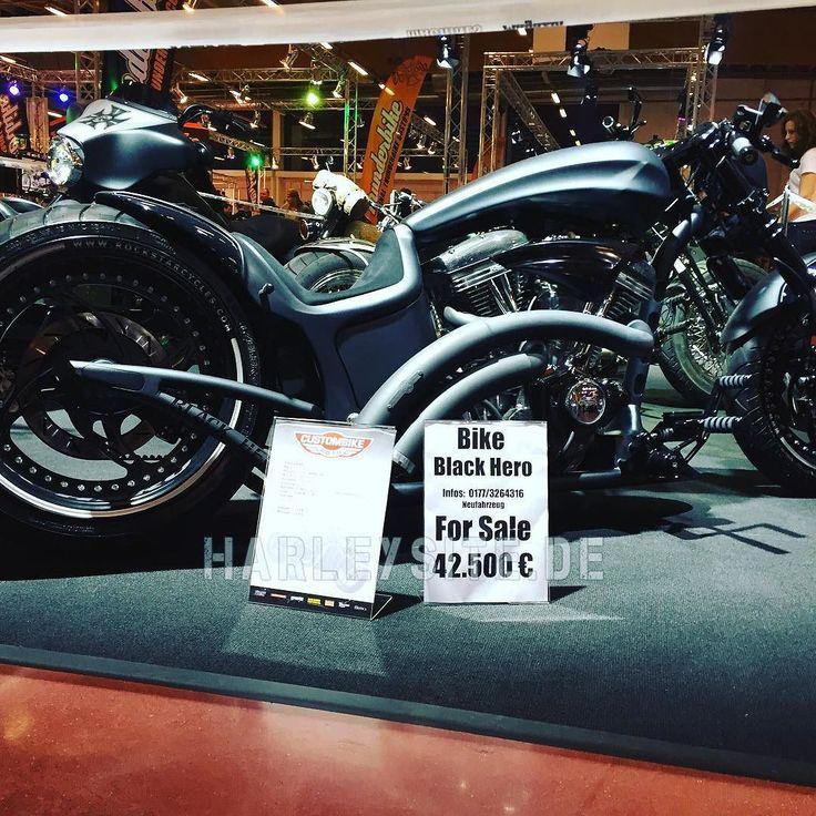 Custombike Show Bad Salzuflen Germany #custombike #custombikeshow #harley ##HD #harleydavidson #badsalzuflen #cbs