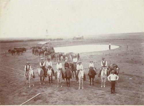 Cowboys in Kansas history