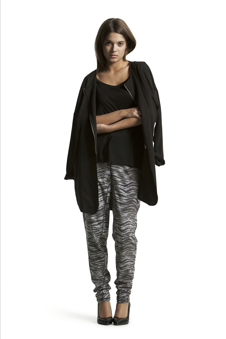 Delphine Jersey Pant with Delta Jacket