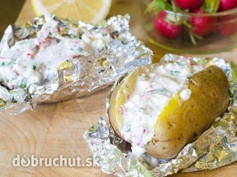 Plnené zemiaky na francúzsky spôsob