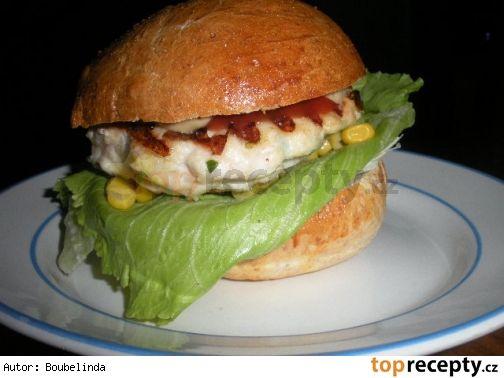 Kuřecí hamburgery
