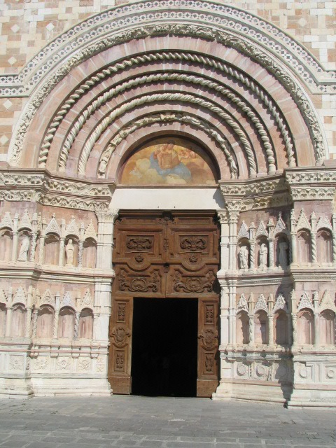 Collemaggio Church L'Aquila Italy by Panoraman, via Flickr