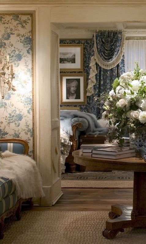 appreciatingthis:  (via Ralph Lauren master bedroom suite… | Pretty Rooms)