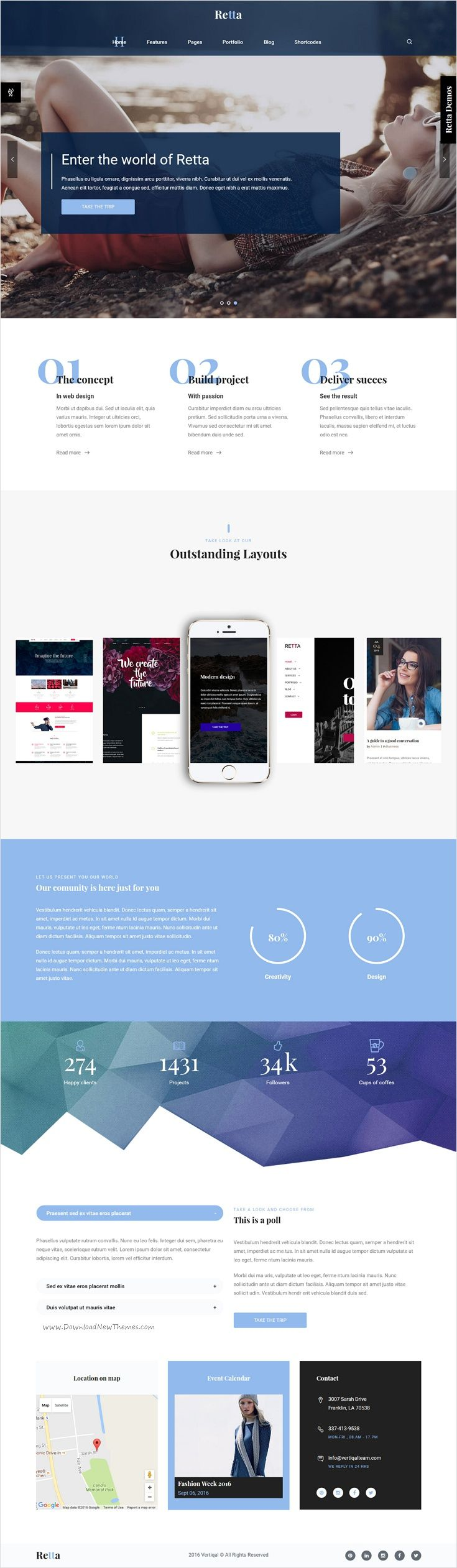 Retta is beautifully design versatile Bootstrap #HTML #templates for stunning #websites with 18+ multipurpose homepage layouts download now➩ https://themeforest.net/item/retta-multiuse-business-html5-mega-pack/17255899?ref=Datasata