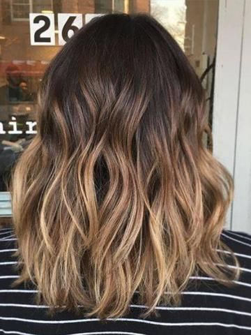 Clip in Remy Human Hair Extensions Balayage Ombre …