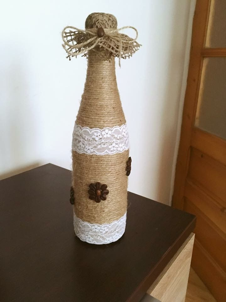Bottle Coffe Handmade #Bottle #Coffe #Handmade #Craft