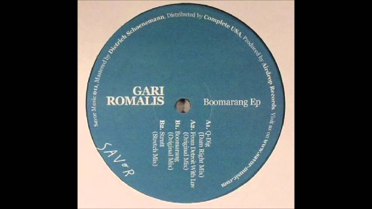 Gari Romalis - Q-Dig (Dam Right Mix)