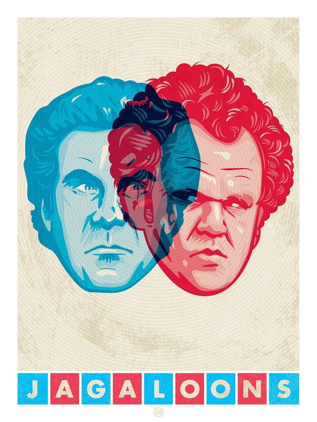 """""""3D Stepbrothers Print"""" by Aaron Sechrist"""