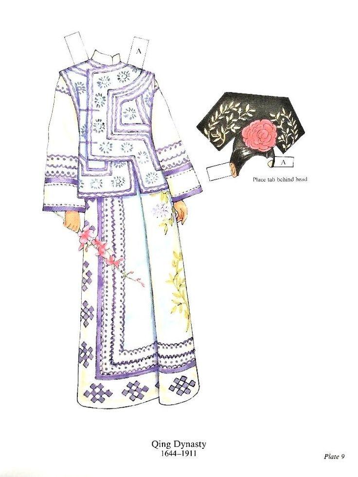 500 Best Paper Dolls International Oriental Asian Images