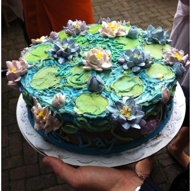 Monet Water Lily Cake I