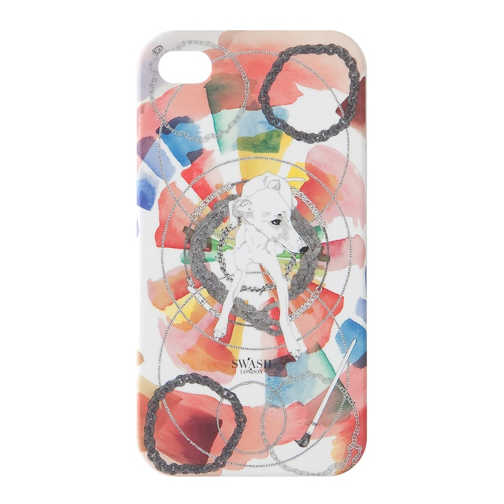 """CANDY CHAIN""  from kanvas products® collaborated with Designer Duo ""SWASH LONDON"" for iPhone Cases by Fashion Designers and Creators, Summer 2012 Collection."