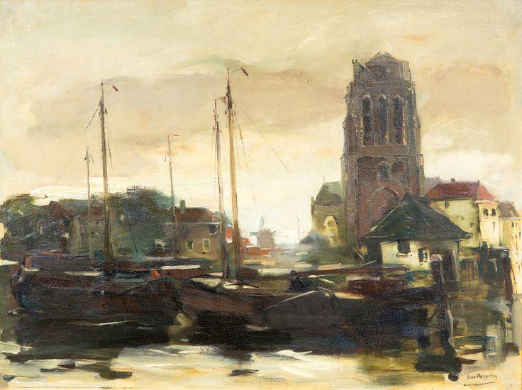 Han van Meegeren (1889-1947), Havengezicht te Dordrecht