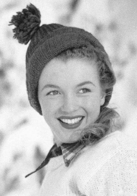 Norma Jeane Mortenson Then Changed To Norma Jeane Baker aka Marilyn Monroe (Circa 1945)