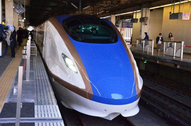 北陸新幹線の新型車両「E7系」試乗会 コンセプトは「〝和〟の未来」【写真】