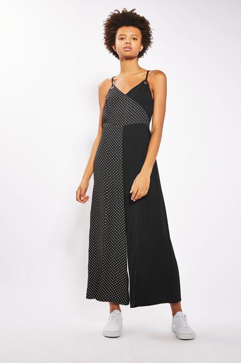 PETITE Black Pinspot Jumpsuit - Rompers & Jumpsuits - Clothing - Topshop USA