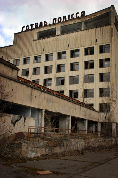 Visit Chernobyl (Yes, I'd like to visit here and yes they do have tours for it.)