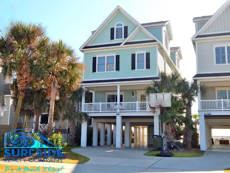 7th Heaven In Surfside Beach Myrtle Bch Sc This Would Accommodate All Of Us 7 Bd 8ba Sleeps