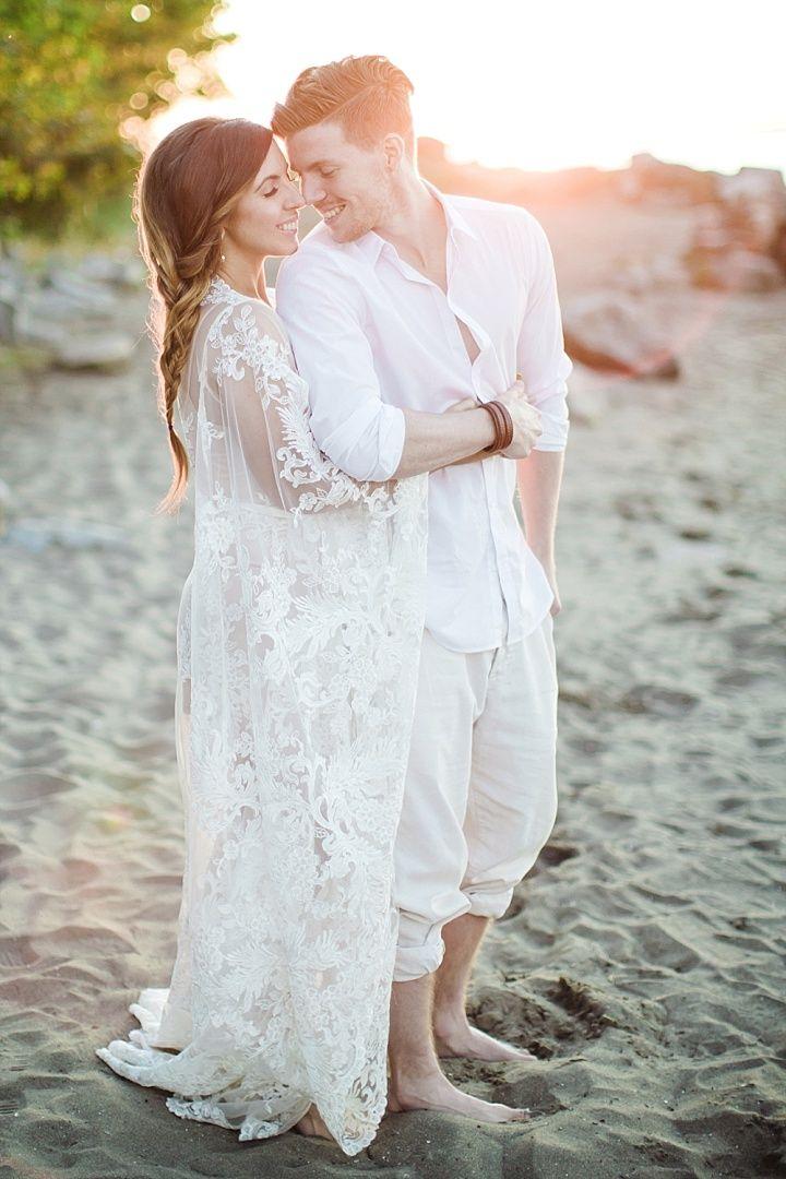 beach wedding south west uk%0A Vibrant Woodland Boho Wedding Inspiration with Beachside Cake Cutting