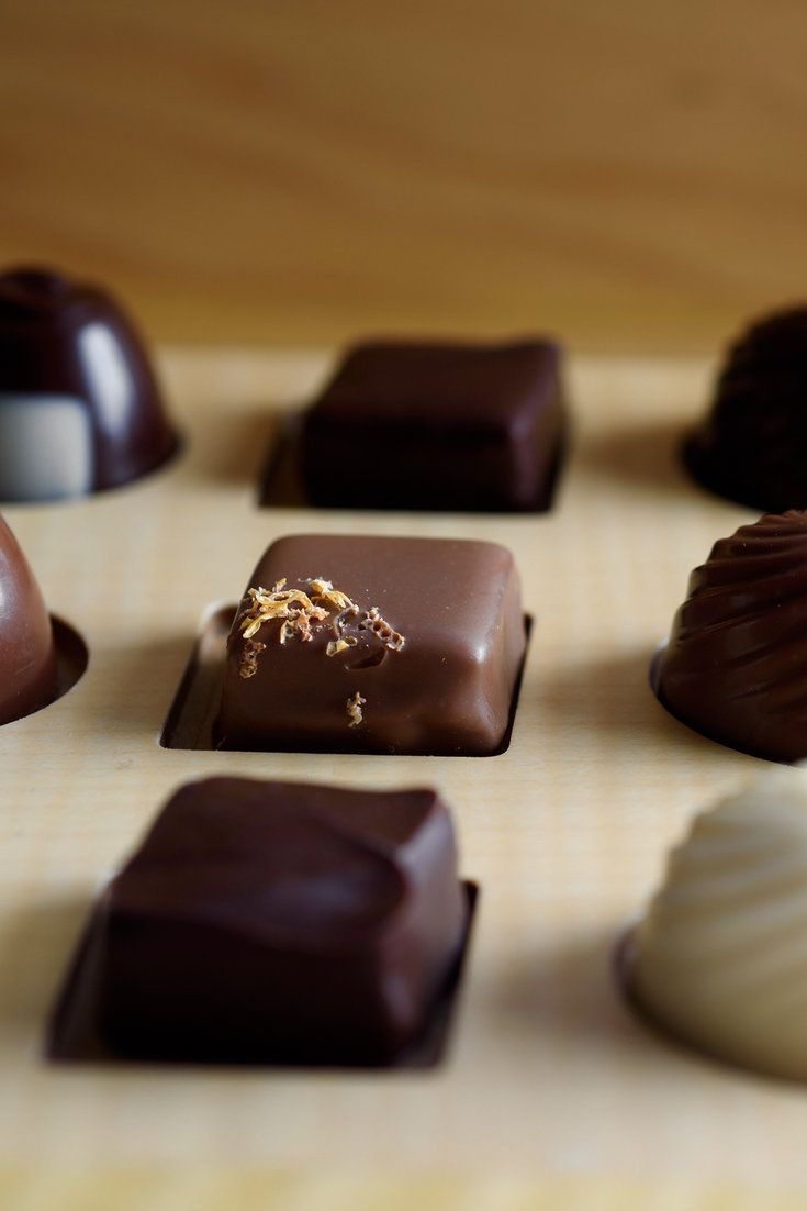 Chocolates offered to guests at the end of a Per Se meal. (Photo: Karsten Moran for The New York Times)