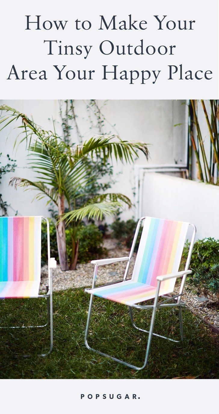 How to Make Your Tinsy Outdoor Area Your Happy Place This Summer