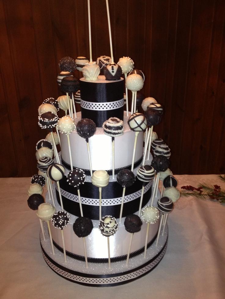 Wedding cake pops for rehearsal dinner Cake Pops and ...