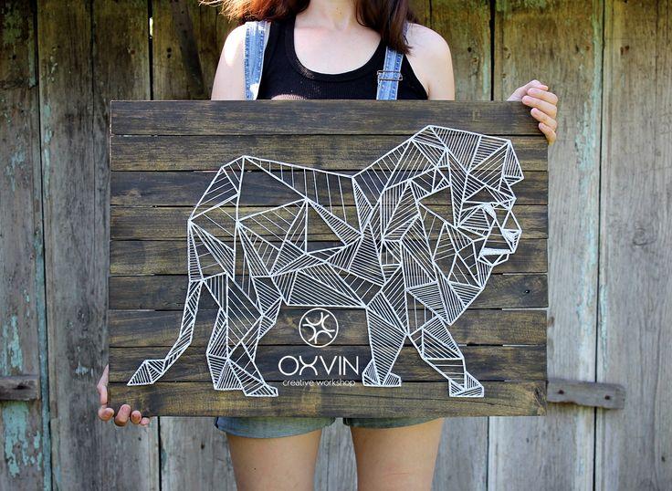 25 Best Ideas About Geometric Lion On Pinterest