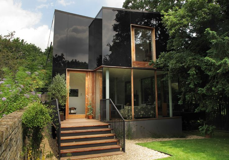 Black Glass Home - Ian McChesney The Tree House