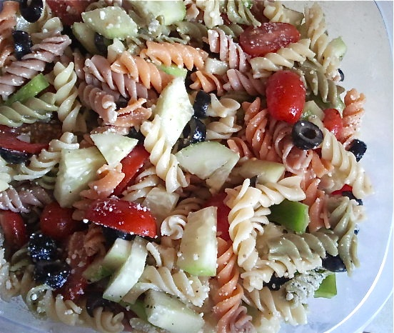 Veggie Pasta Salad | Cooking/Baking | Pinterest