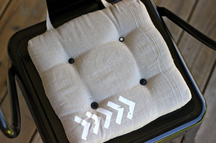 How to Make Dining Chair Cushions with Bonus Embellishment Goodness | Pretty Prudent
