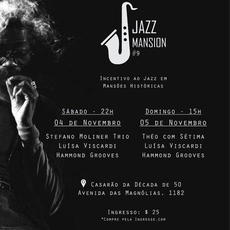 Neste #findes tem #hammondgrooves @ #jazzmansion. Sábado e Domingo. Ingressos limitados. Corre lá na bio do @jazzmansion e garanta já o seu! #hammondgrooves #organtrio #jazzorgan #organjazz #musica #party #hammondorgan #guitarra #bateria #latorre #hammond #lesliespeaker #jazz #souljazz #groove #jameson #sol #musica #magnolia #saopaulo #sampa #historic #findes #diversão #dominguera @cucostation
