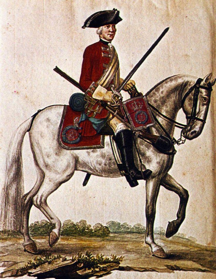 Hanover in the Seven Years War Cavalry Garde du Corps by Karsten