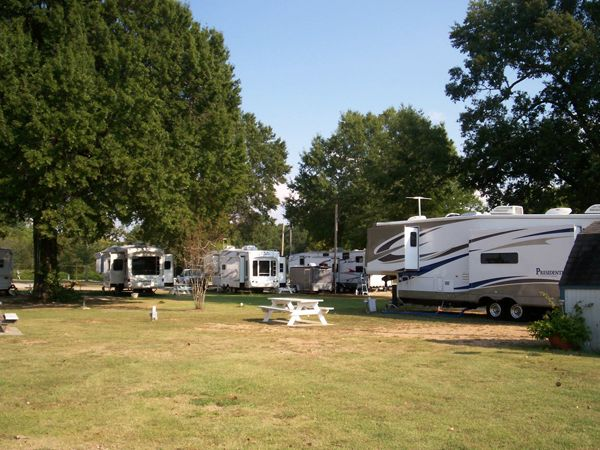 Sawyer RV Park At Oklahoma