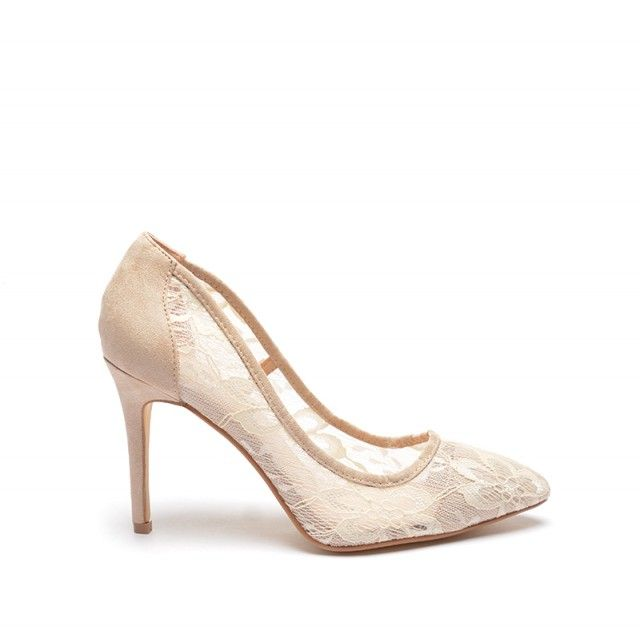 Pantofi Karyn Bej (Bej)