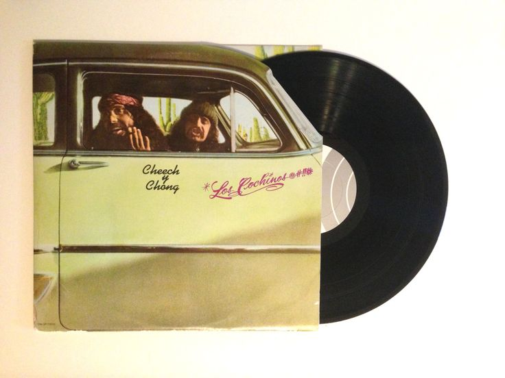 HOLIDAY SALE Vinyl LP Cheech and Chong Los Cochinos Record Album Seventies Stoner Comedy
