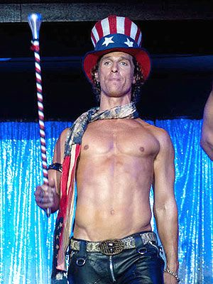 Matthew McConaughey Didn't Use a 'Stunt A––' in Magic Mike | Matthew McConaughey