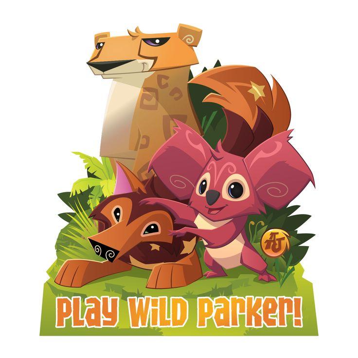 Animal Jam Play Wild Easy-Move Canvas Decal - Wall Decor - Decor | Tv's Toy Box