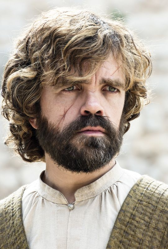 Peter Dinklage as Tyrion Lannister: The beard was the best thing to happen to Tyrion (and us).
