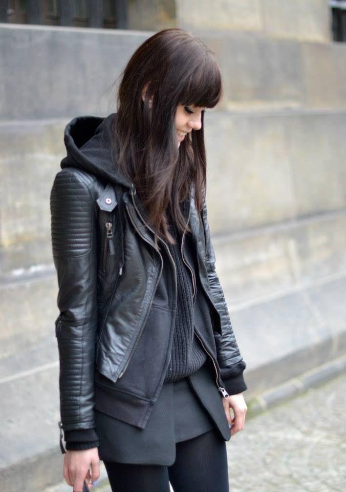 leather jacket #JBRANDHOLIDAY #WMAG