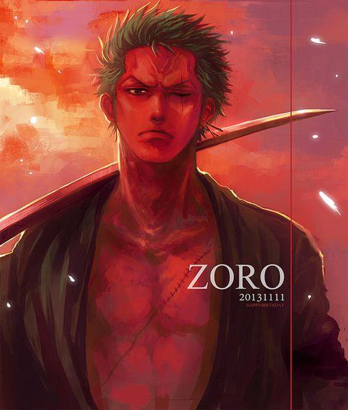 Happy Birthday! Roronoa Zoro!! November 11,2013