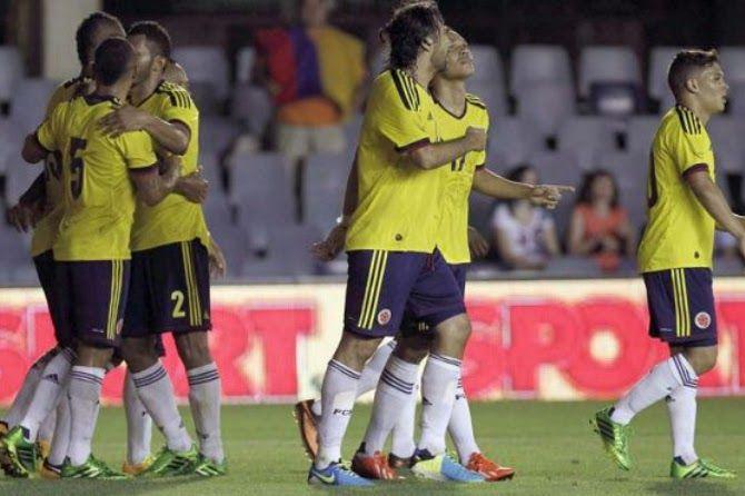 Gol de Freddy Guarín - Colombia 1 Serbia 0 14/08/2013