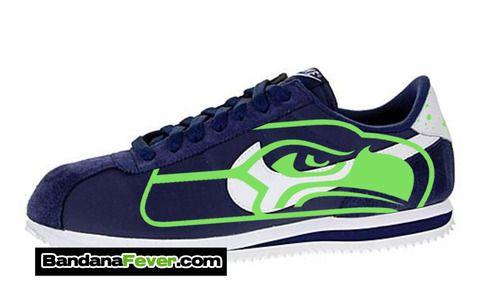 Nike Cortez Seahawks Shoes