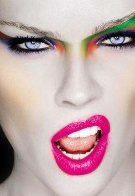 Neon make up line Chanel